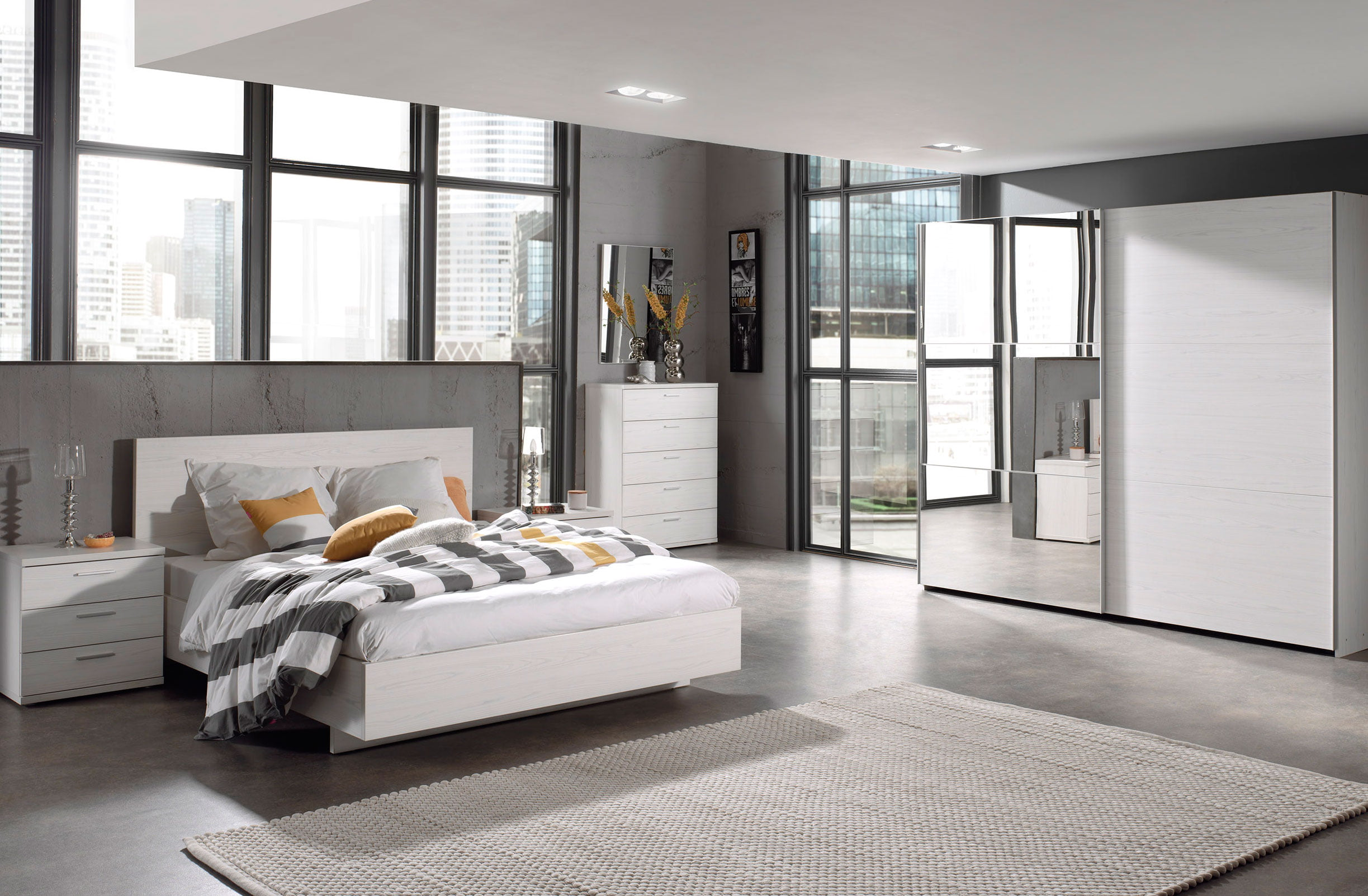 Complete slaapkamer Andante