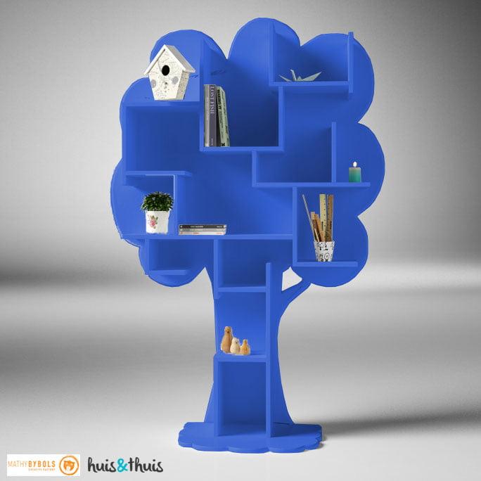 Boekenkast-Louane-Blauw