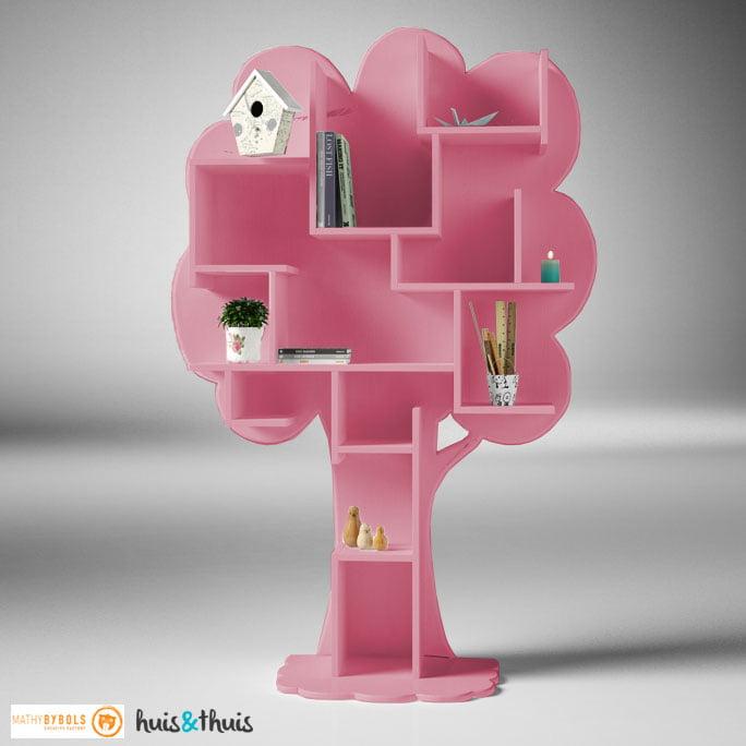 Boekenkast-Louane-Licht-Roze