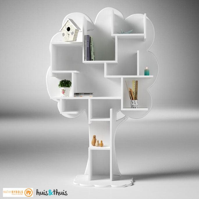 Boekenkast-Louane-wit