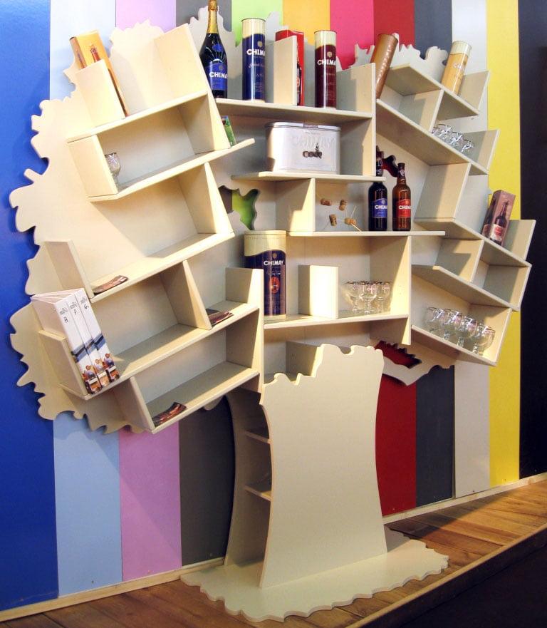 Boekenkast-Tess-Greige