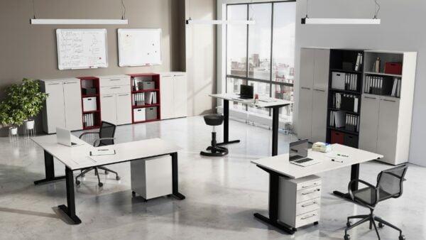 Hoge bureaukast Ergonoma-HS-R