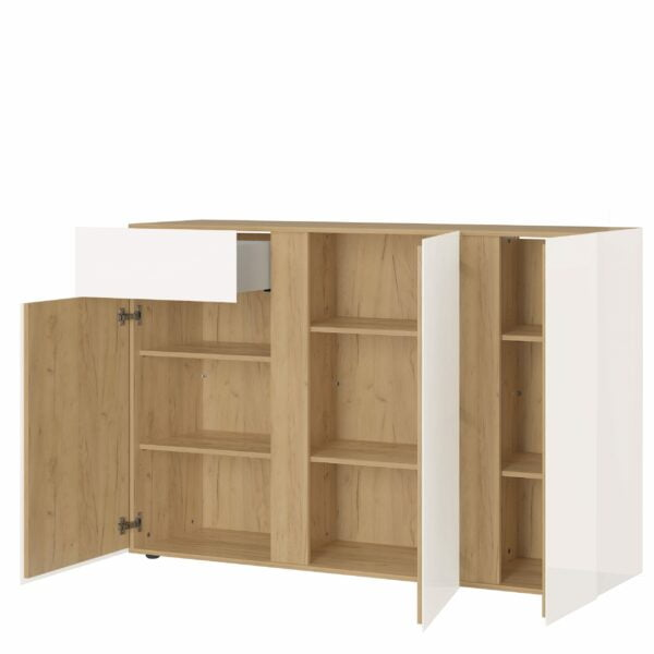 Hoge dressoir Taranto-ZE open