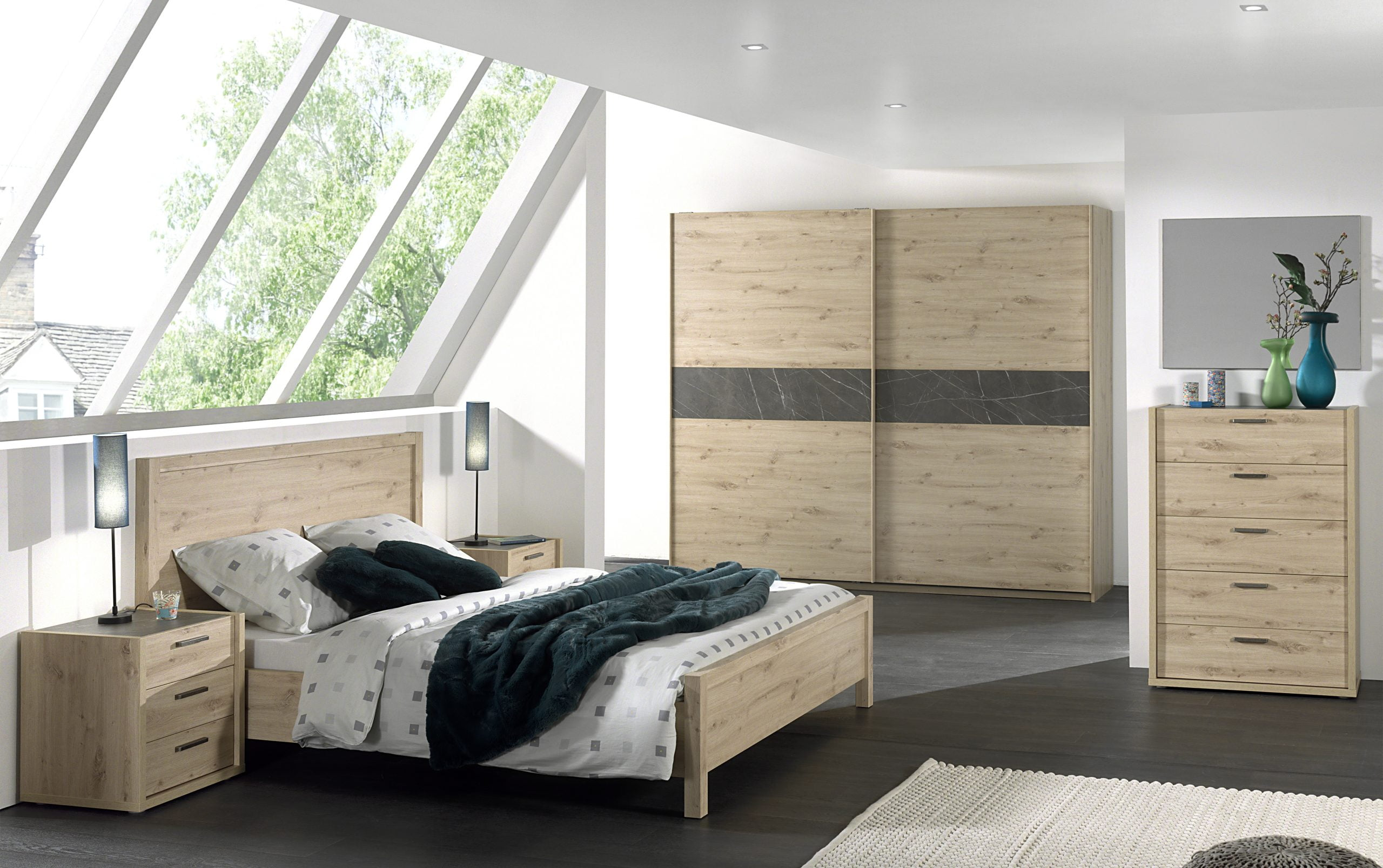 Complete slaapkamer Ibiza