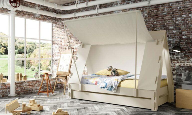 Tentbed-Greige Mathy By Bols Huis en thuis