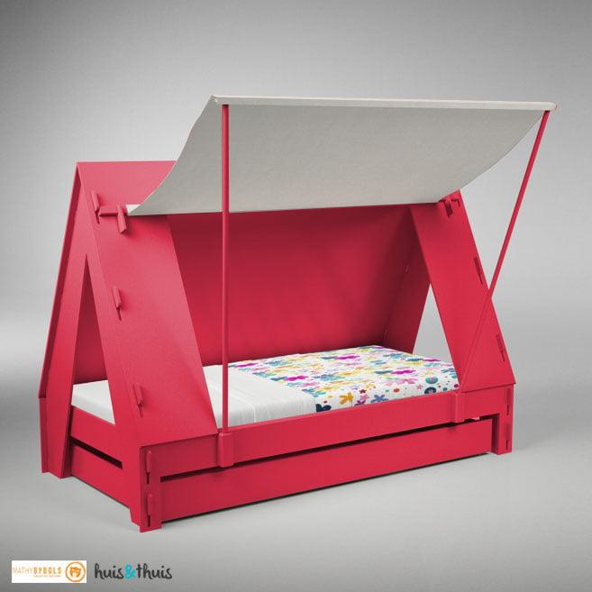 Tentbed-aardbei-Mathy By Bols Huis en thuis