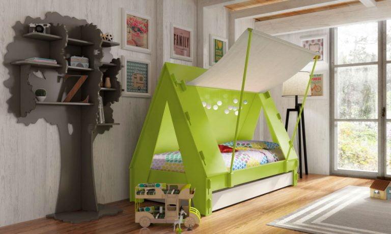 Tentbed-appelgroen Huis en thuis Mathy By Bols