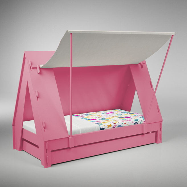 Mathy By Bols Tentbed Licht Roze