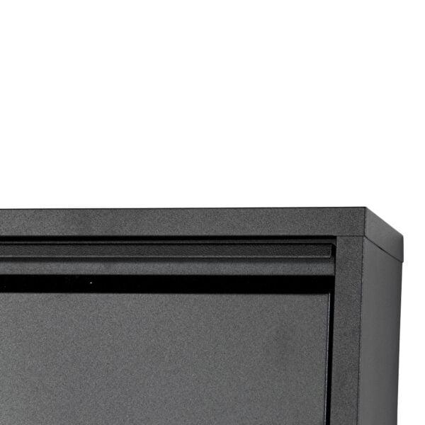 Schoenenkast Oscar-1 Zwart-3